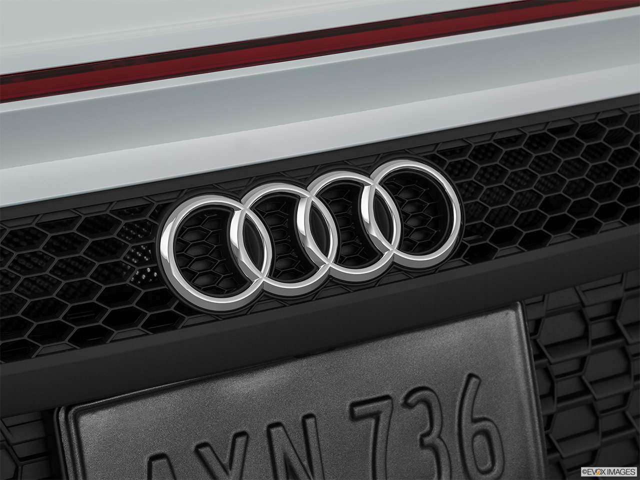 2020 Audi R8 Spyder V10 Rear manufacture badge/emblem
