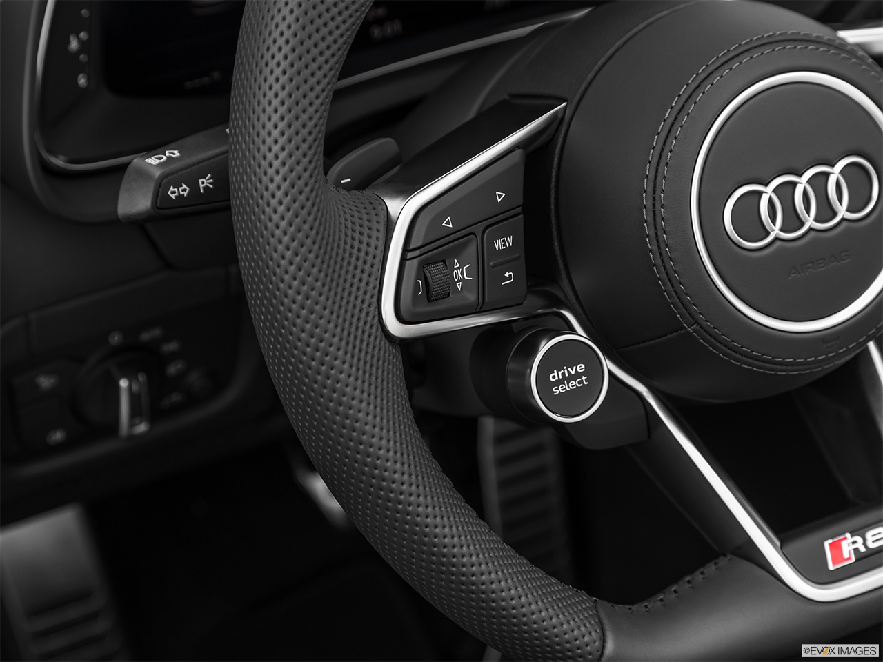 2020 Audi R8 Spyder V10 Steering Wheel Controls (Left Side)