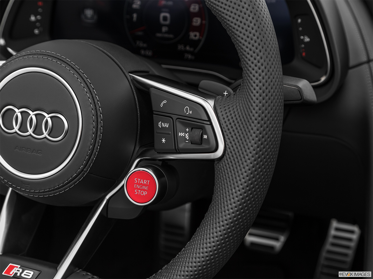 2020 Audi R8 Spyder V10 Steering Wheel Controls (Right Side)