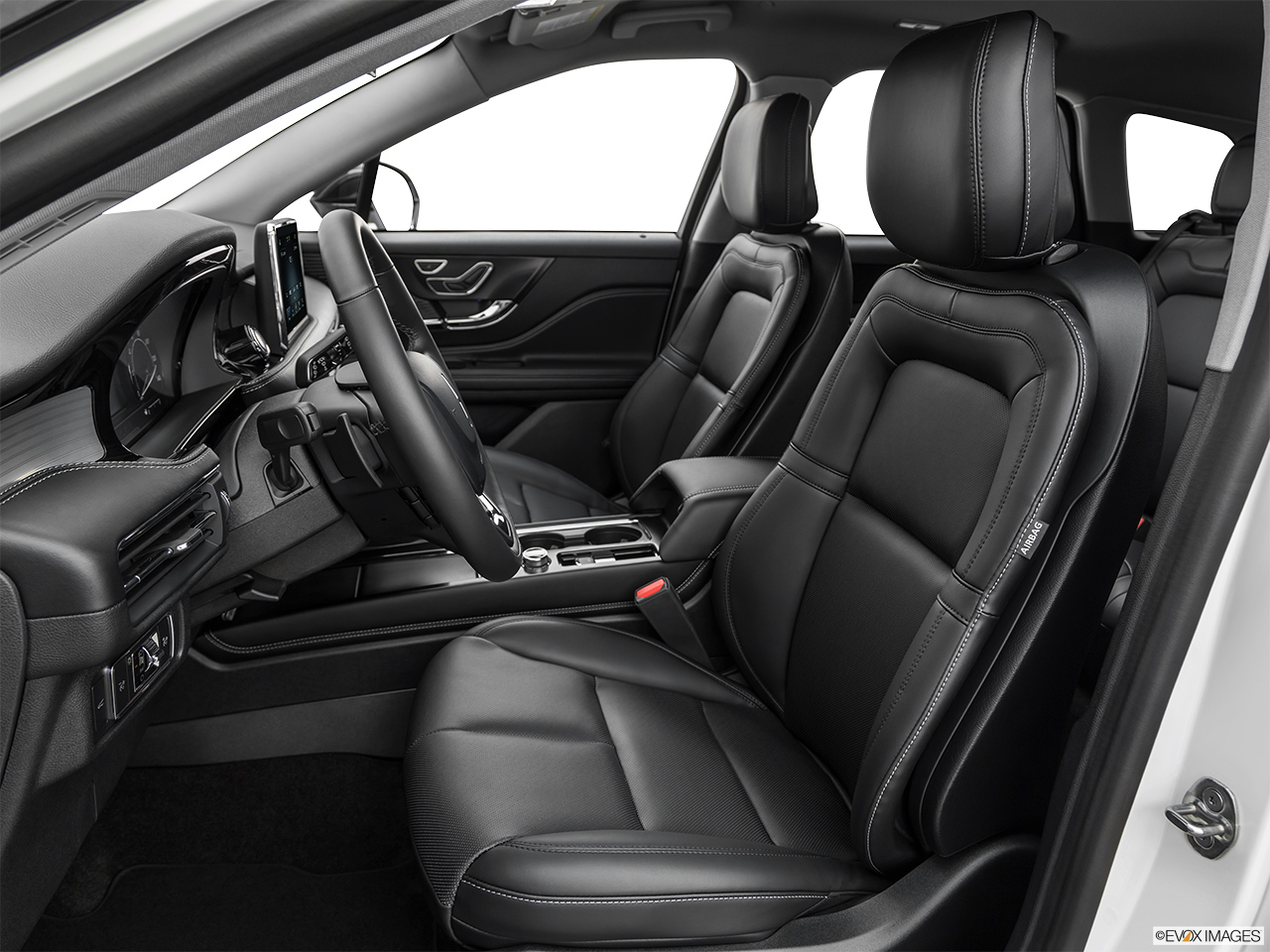 2020 Lincoln Corsair Standard Front seats from Drivers Side.