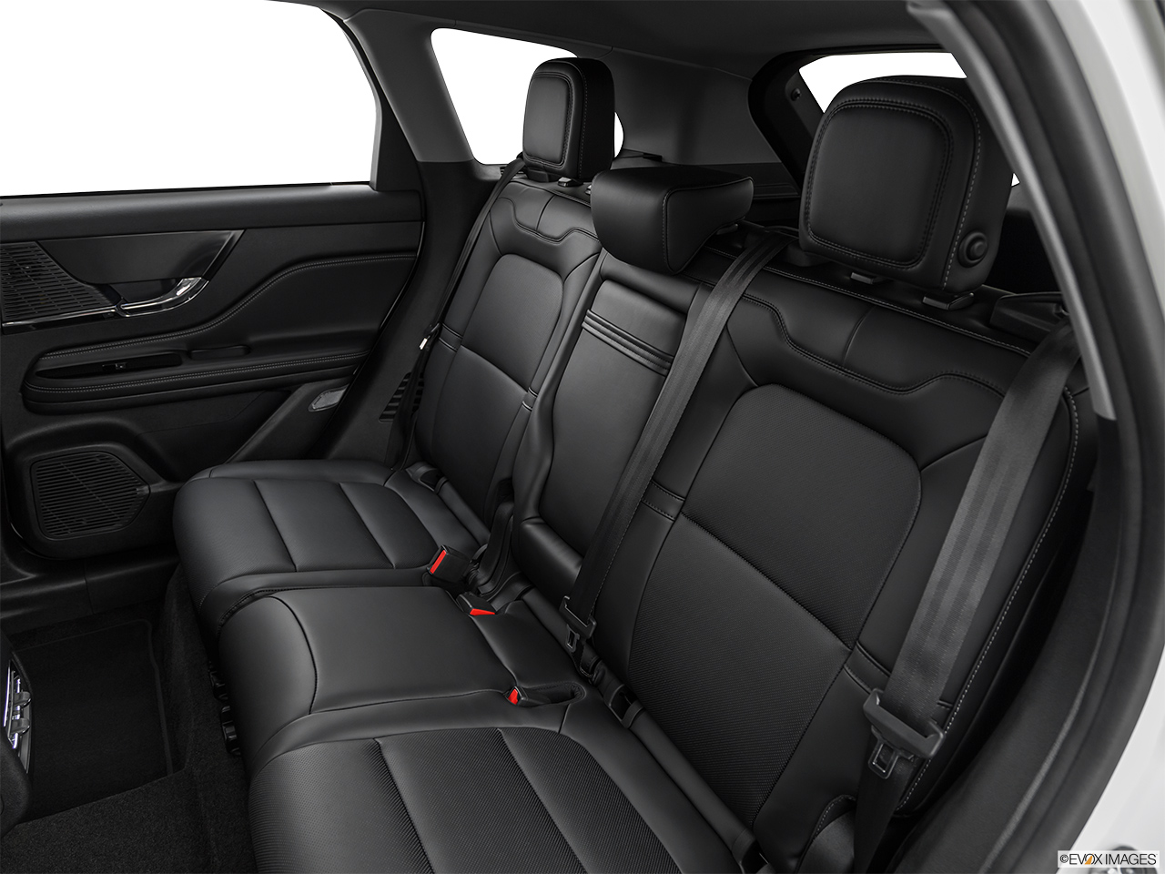 2020 Lincoln Corsair Standard Rear seats from Drivers Side.