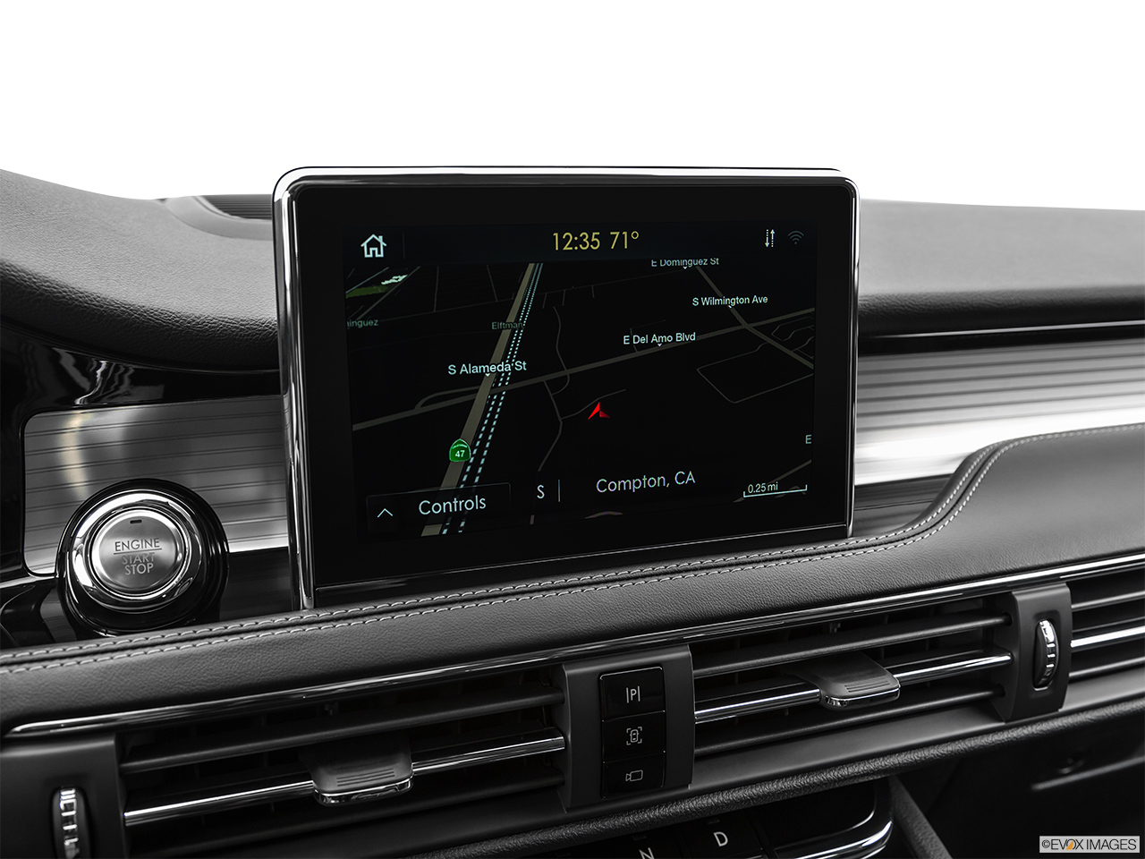 2020 Lincoln Corsair Standard Driver position view of navigation system.