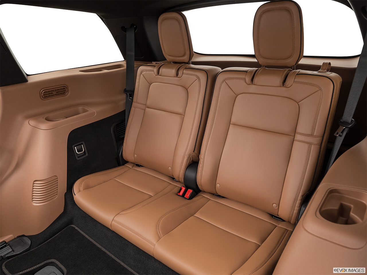 2020 Lincoln Aviator Black Label 3rd row seat from Driver Side.