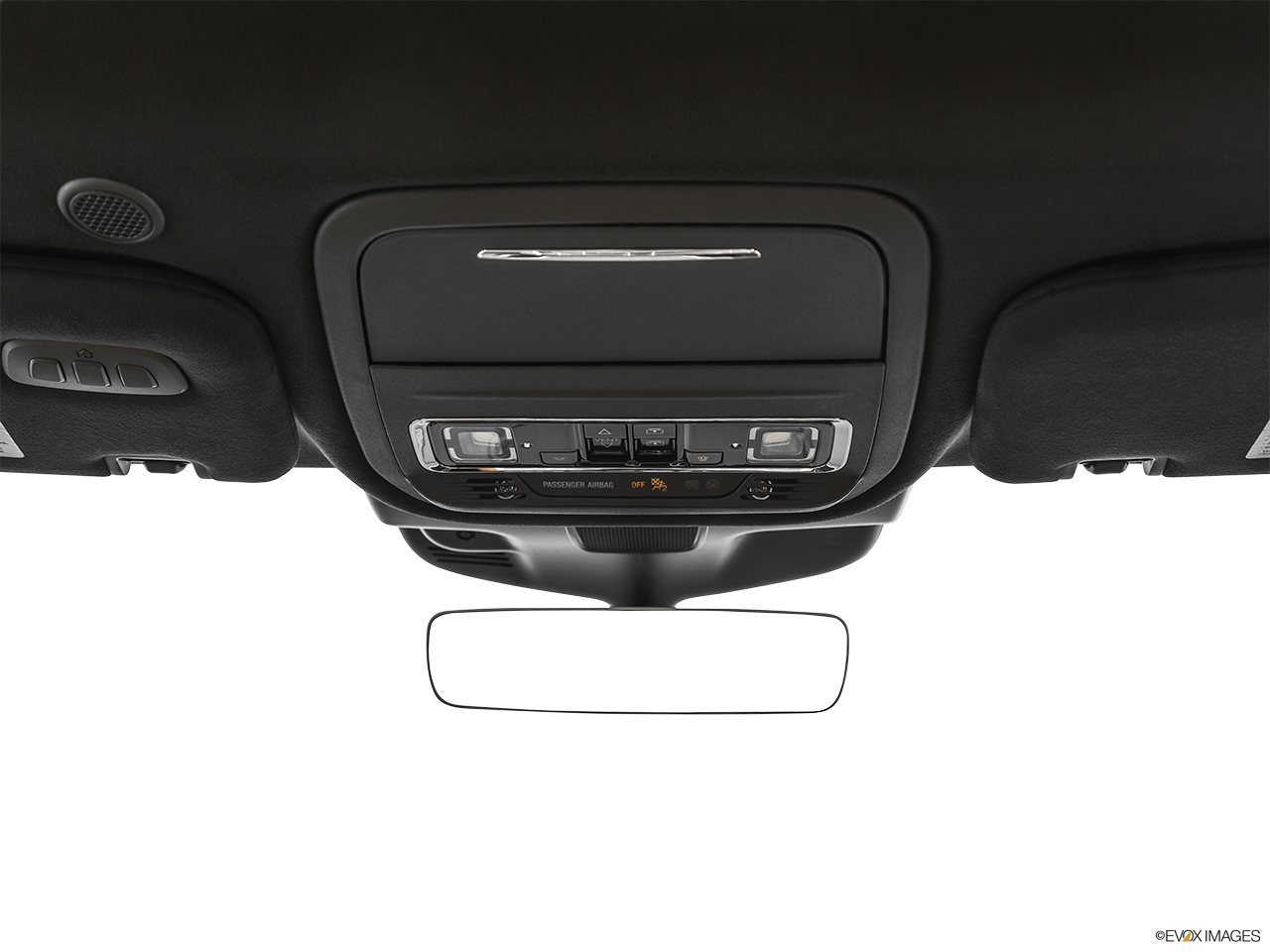 2020 Lincoln Aviator Black Label Courtesy lamps/ceiling controls.
