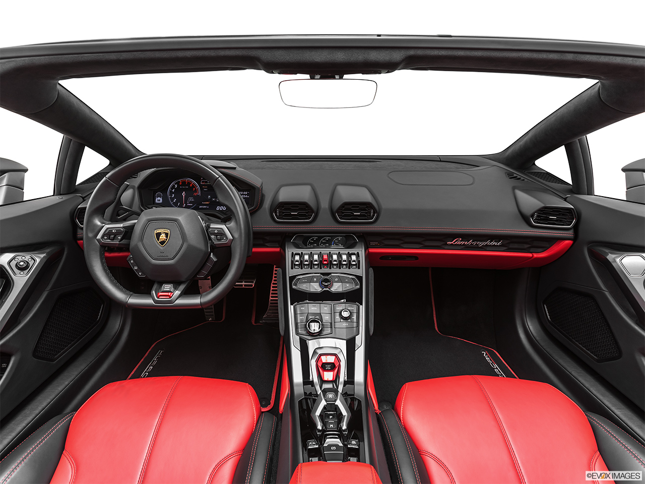 2019 Lamborghini Huracan Spyder LP580-2S Centered wide dash shot