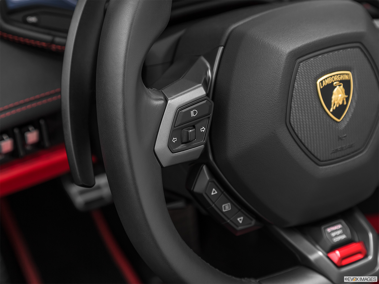 2019 Lamborghini Huracan Spyder LP580-2S Steering Wheel Controls (Left Side)