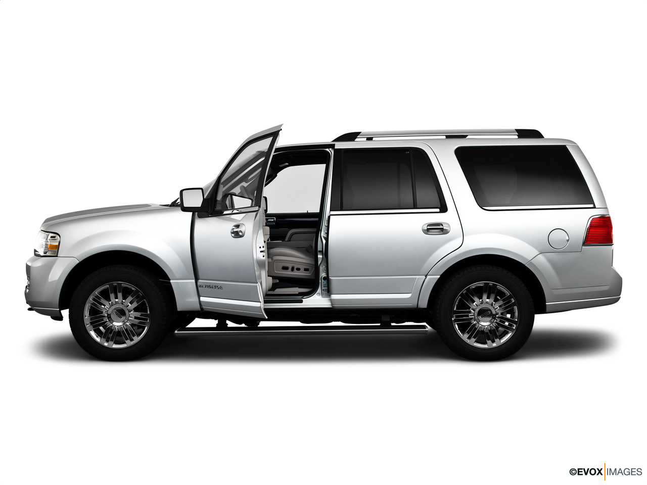 2010 Lincoln Navigator Base Driver's side profile with drivers side door open.