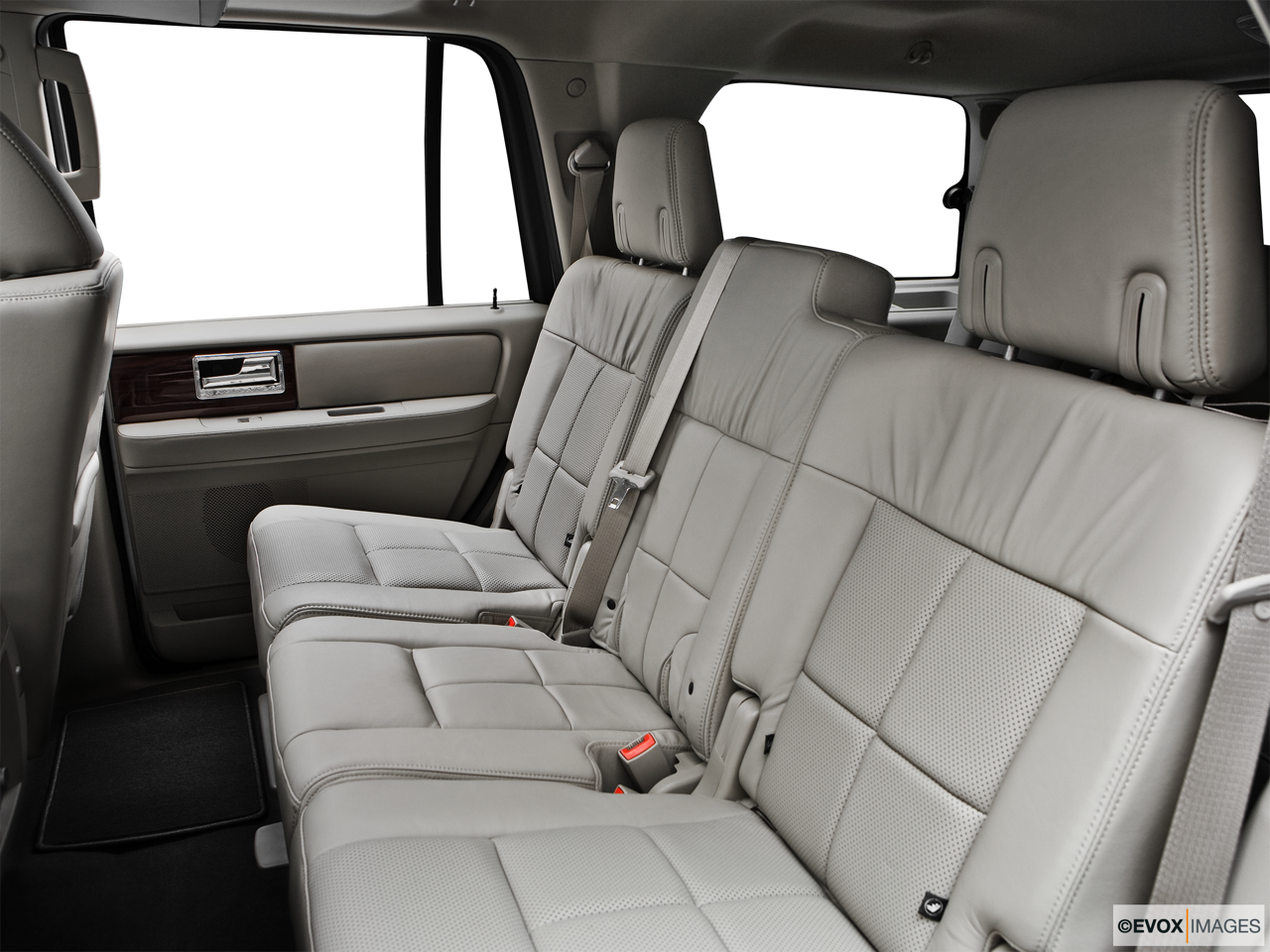 2010 Lincoln Navigator Base Rear seats from Drivers Side.