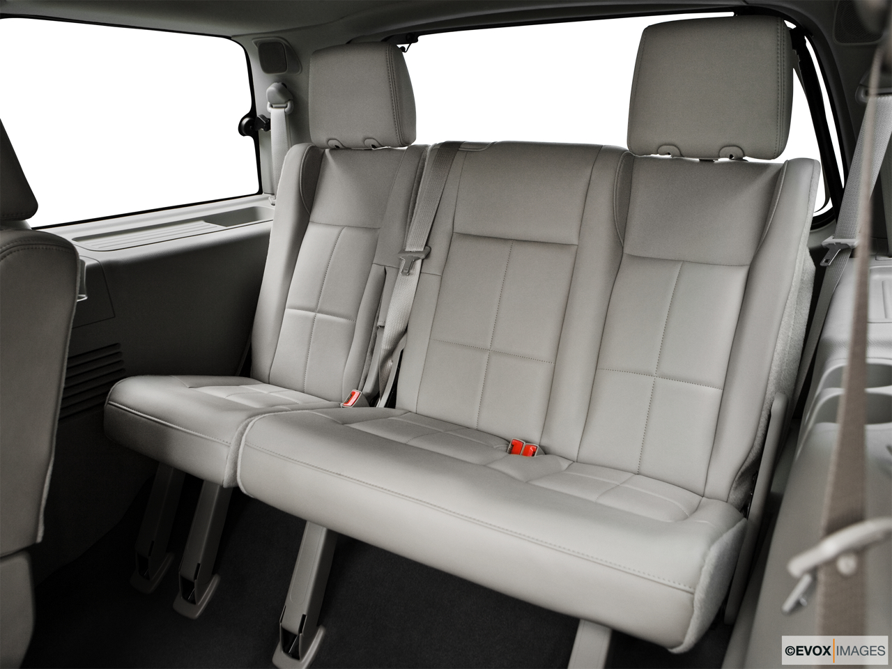 2010 Lincoln Navigator Base 3rd row seat from Driver Side.