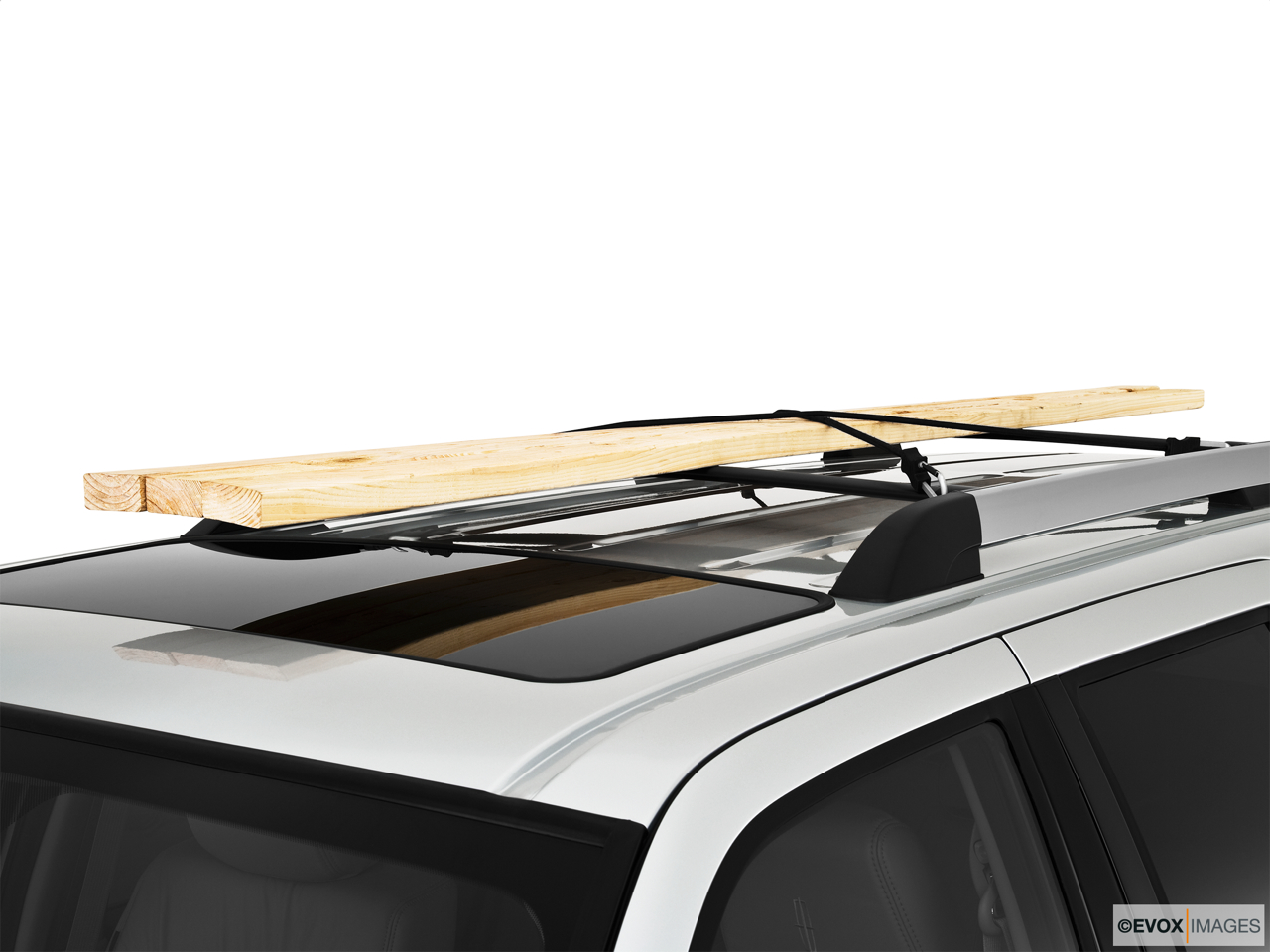 2010 Lincoln Navigator Base Roof rack props.