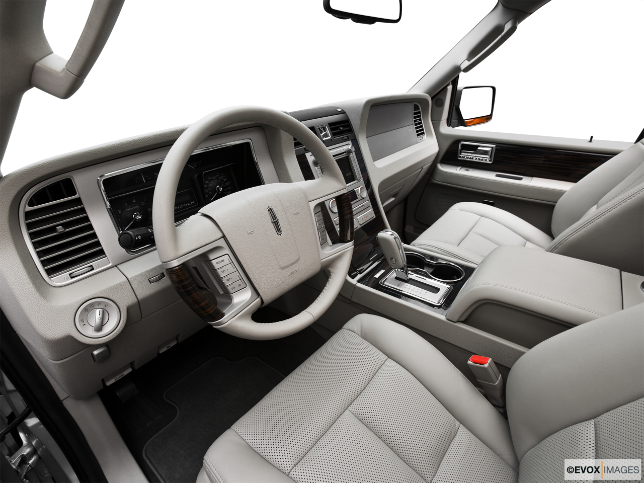 2010 Lincoln Navigator Base Interior Hero (driver's side).