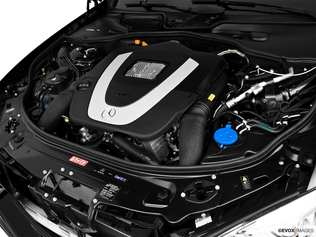 2010 Mercedes-Benz S-Class Hybrid S400 Engine.