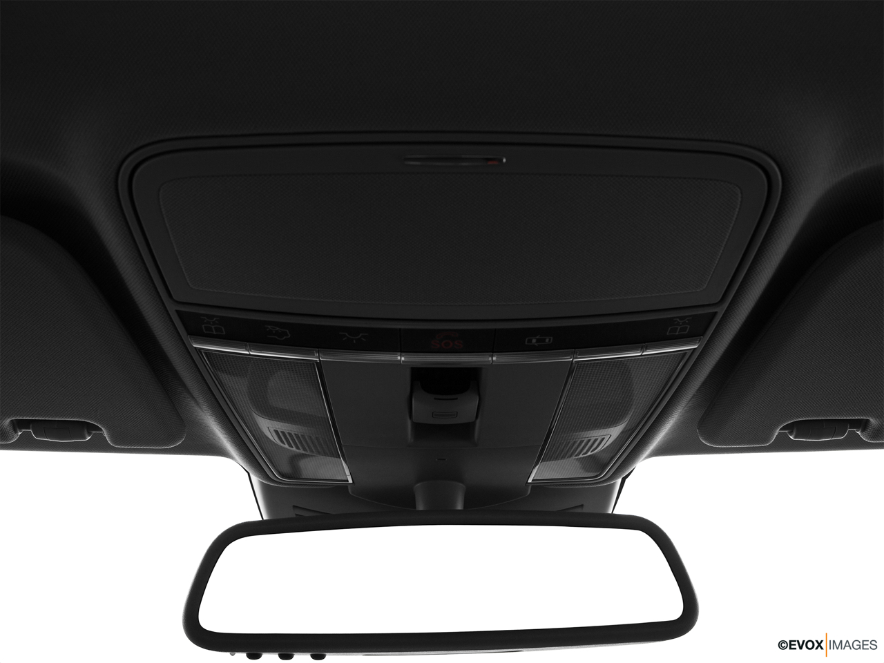 2010 Mercedes-Benz S-Class Hybrid S400 Courtesy lamps/ceiling controls.