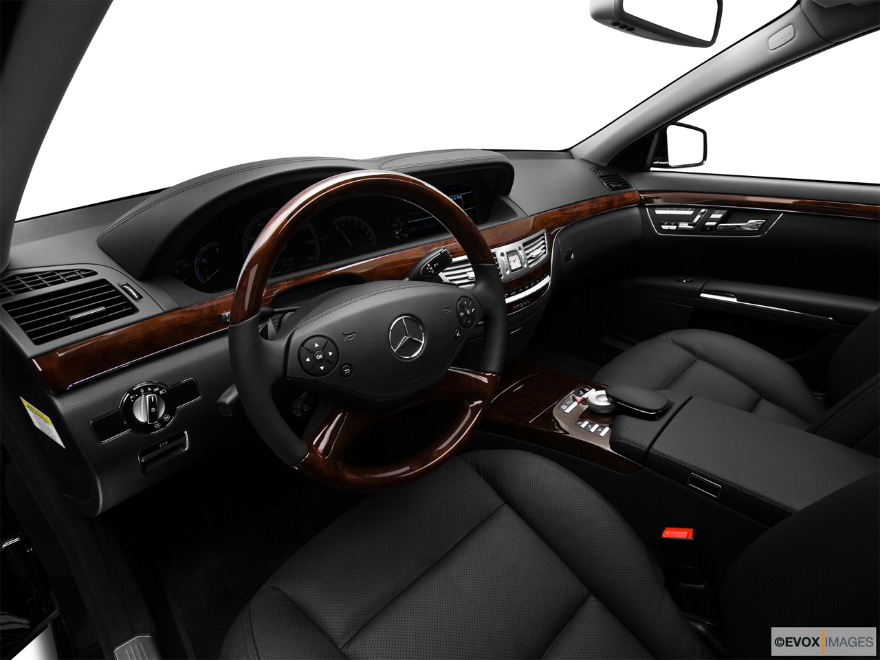 2010 Mercedes-Benz S-Class Hybrid S400 Interior Hero (driver's side).