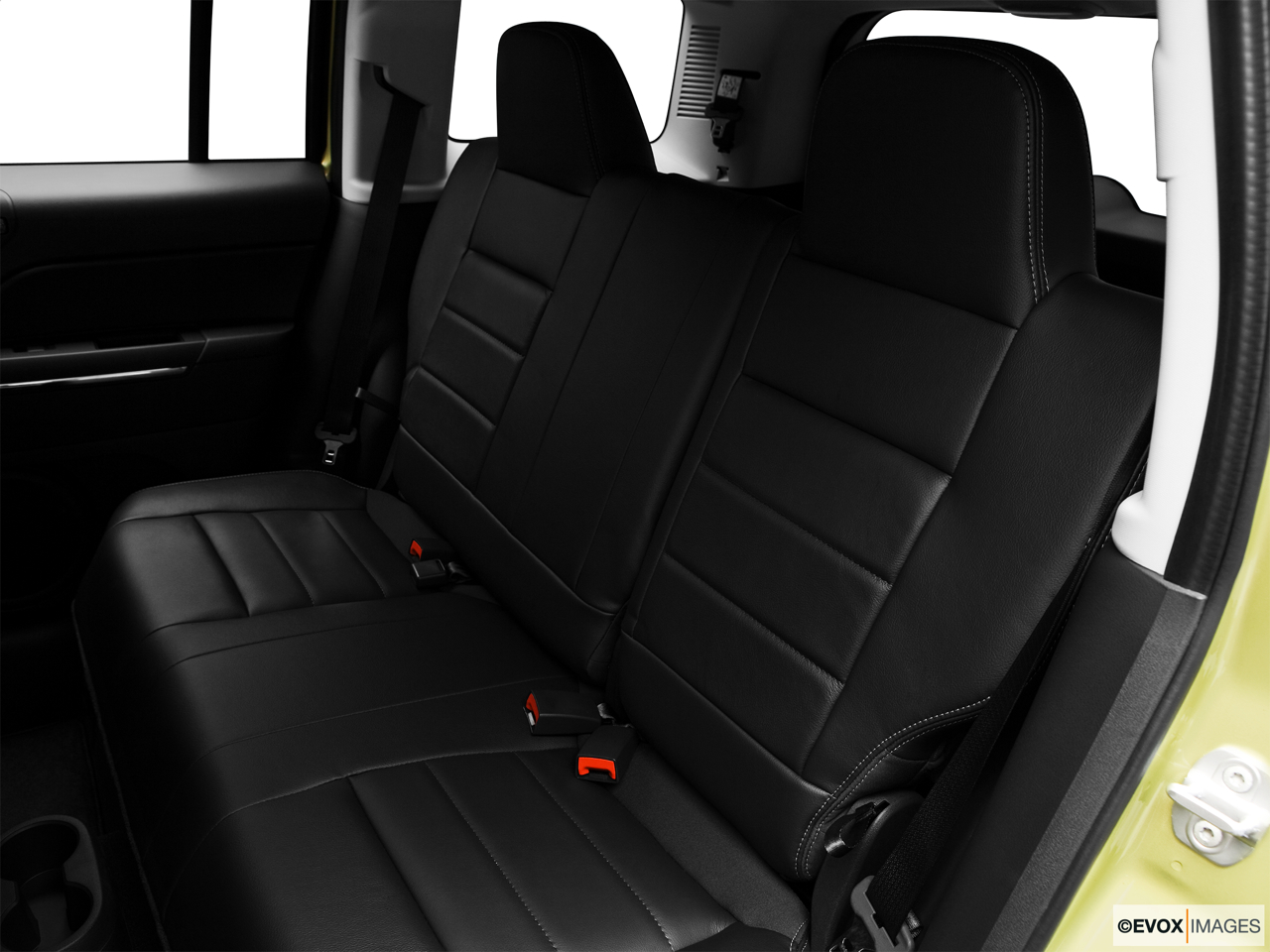 2010 Jeep Patriot Limited Rear seats from Drivers Side.