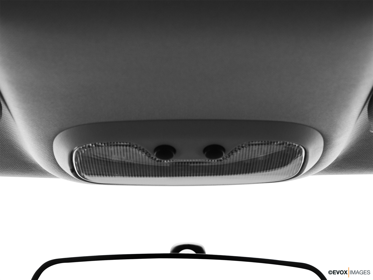 2010 Jeep Patriot Limited Courtesy lamps/ceiling controls.