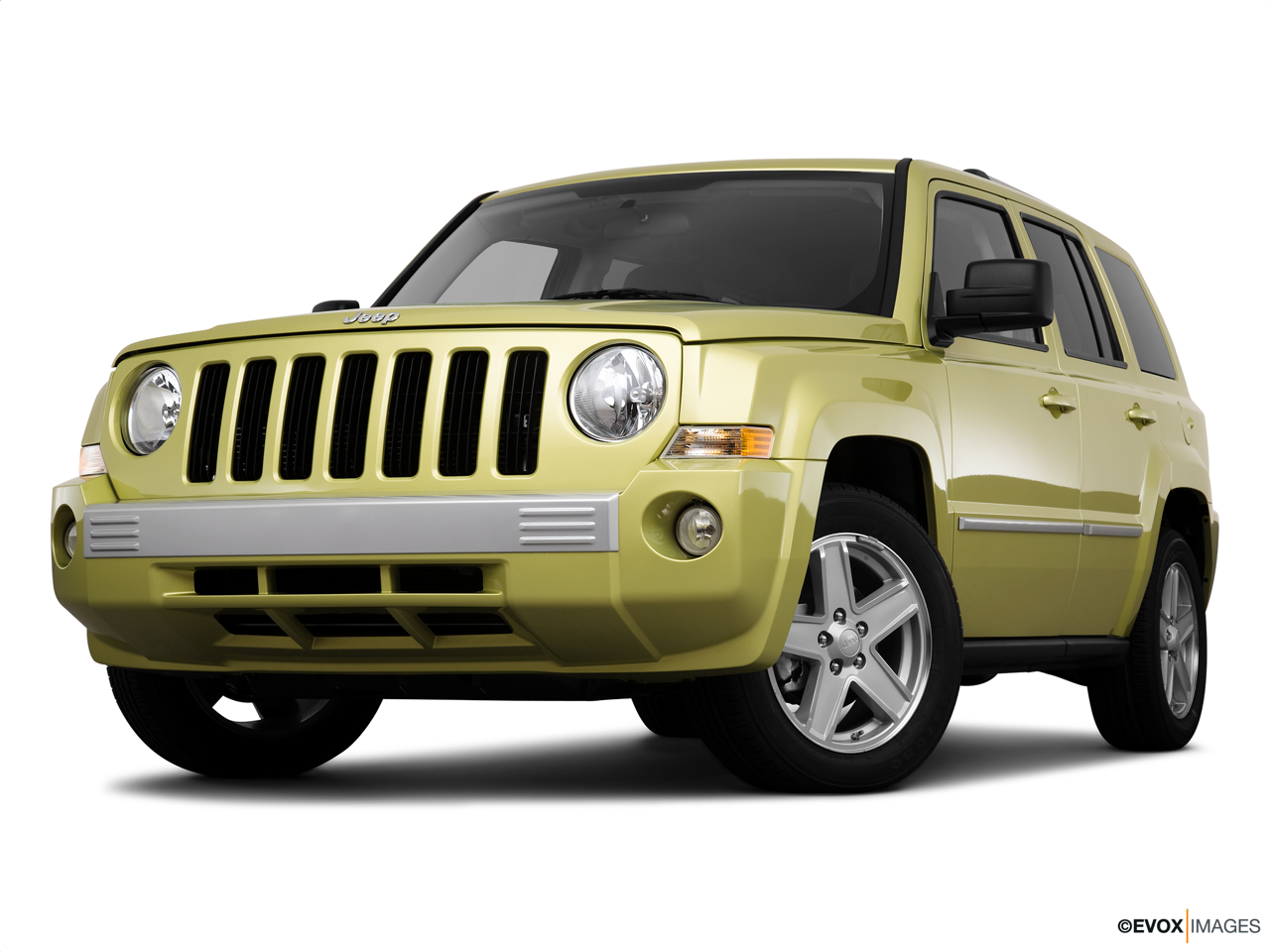 2010 Jeep Patriot Limited Front angle view, low wide perspective.