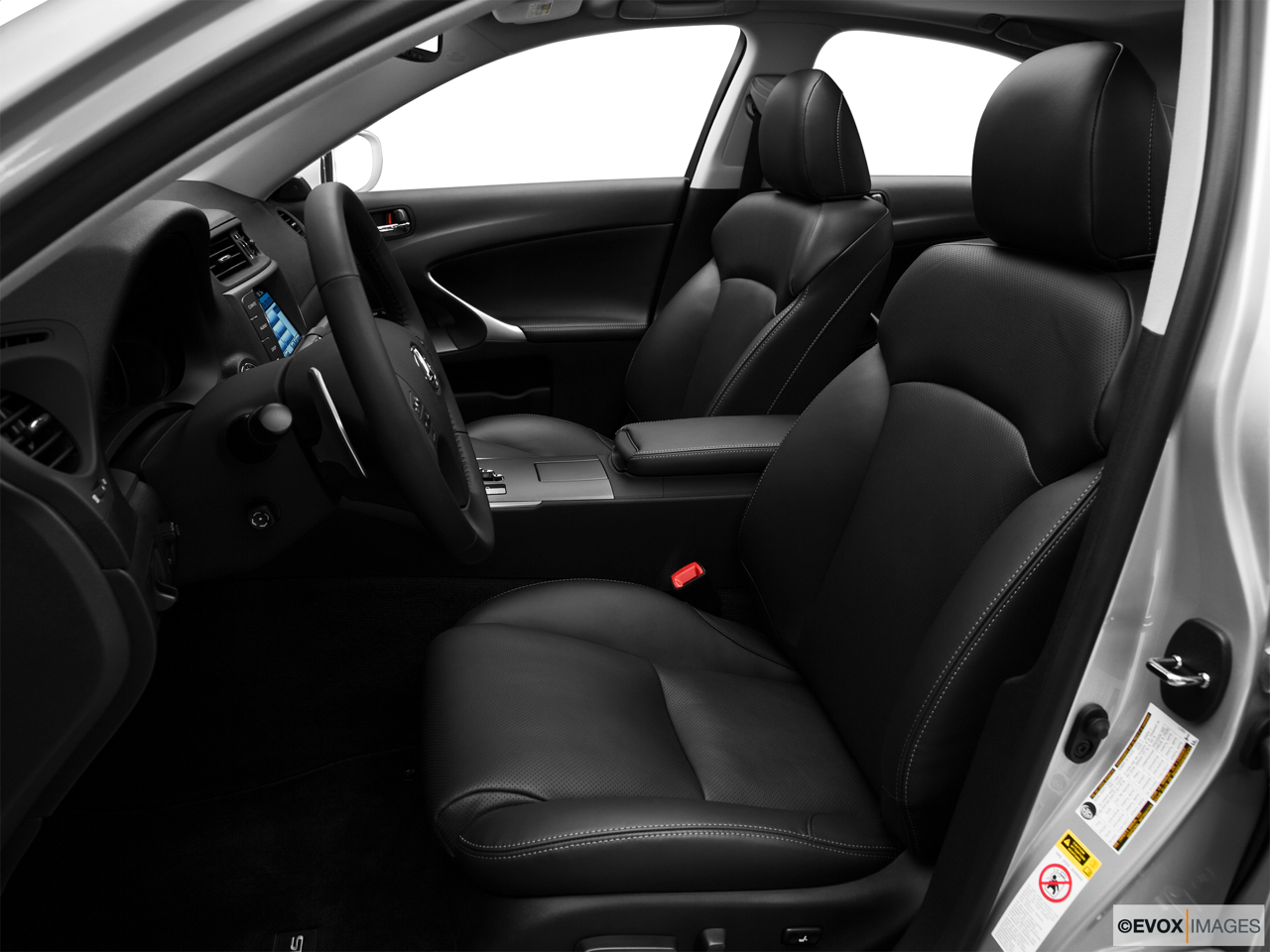 2010 Lexus IS 250 IS250 Front seats from Drivers Side.