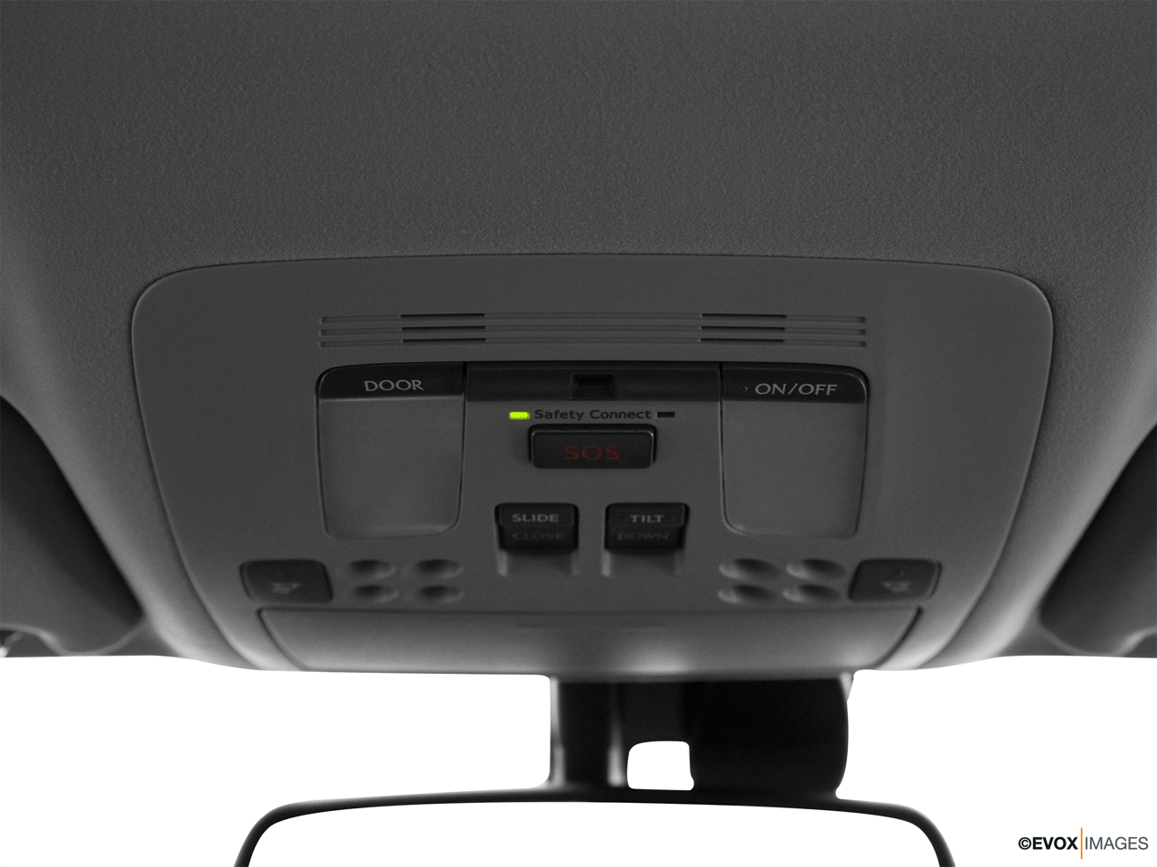 2010 Lexus IS 250 IS250 Courtesy lamps/ceiling controls.