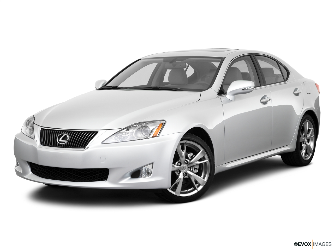 2010 Lexus IS 250 IS250 Front angle medium view.