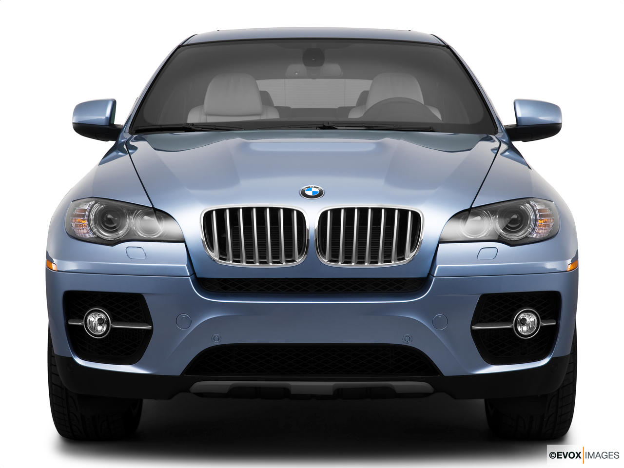 2010 BMW X6 Hybrid Base Low/wide front.