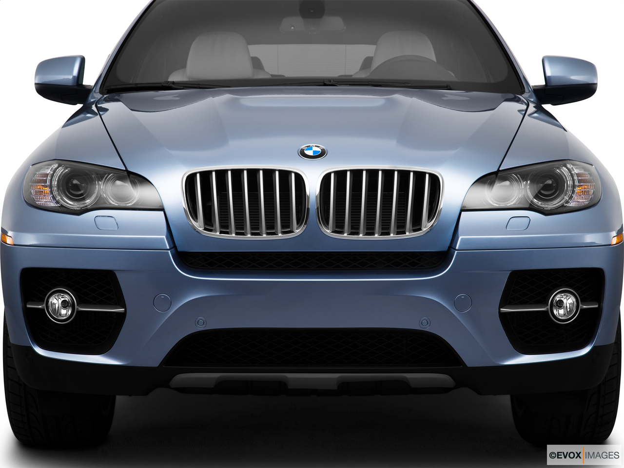 2010 BMW X6 Hybrid Base Close up of Grill.