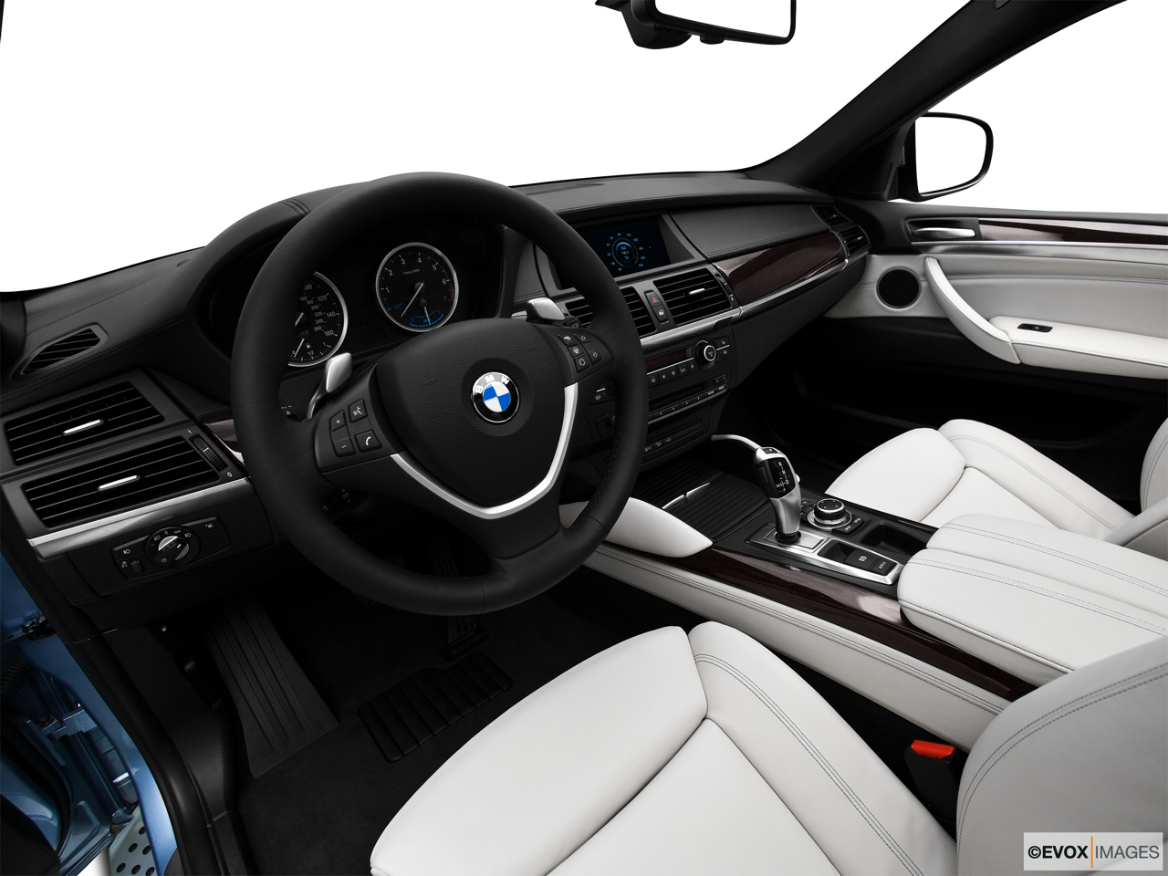 2010 BMW X6 Hybrid Base Interior Hero (driver's side).