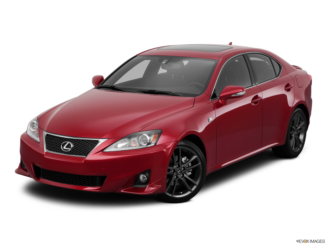 2011 Lexus IS 250 IS250 Front angle view.