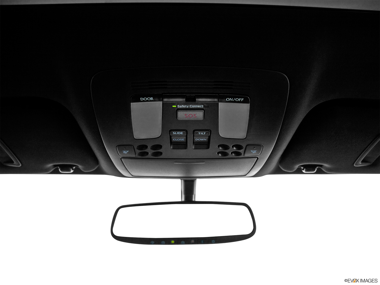 2011 Lexus IS 250 IS250 Courtesy lamps/ceiling controls.