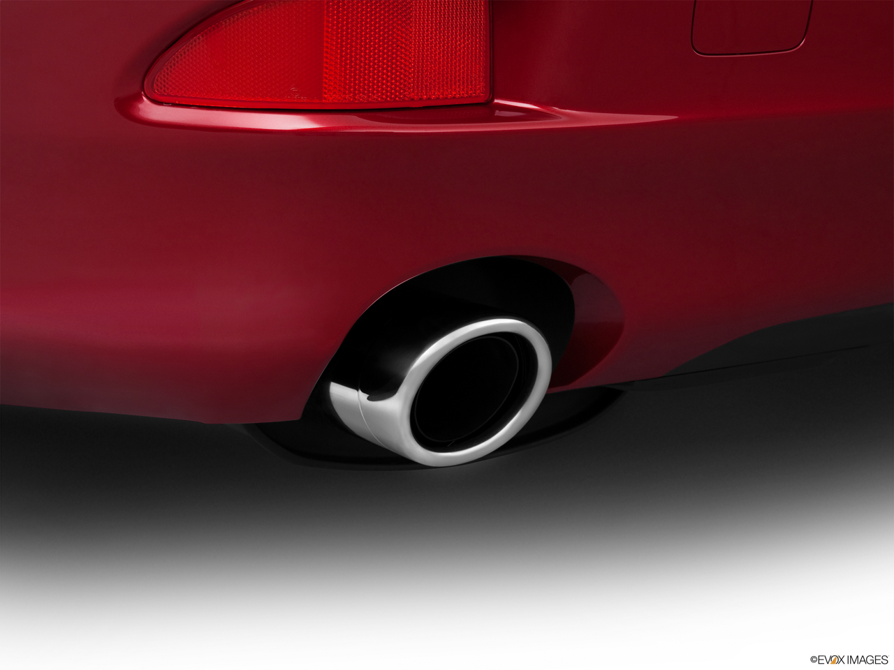 2011 Lexus IS 250 IS250 Chrome tip exhaust pipe.