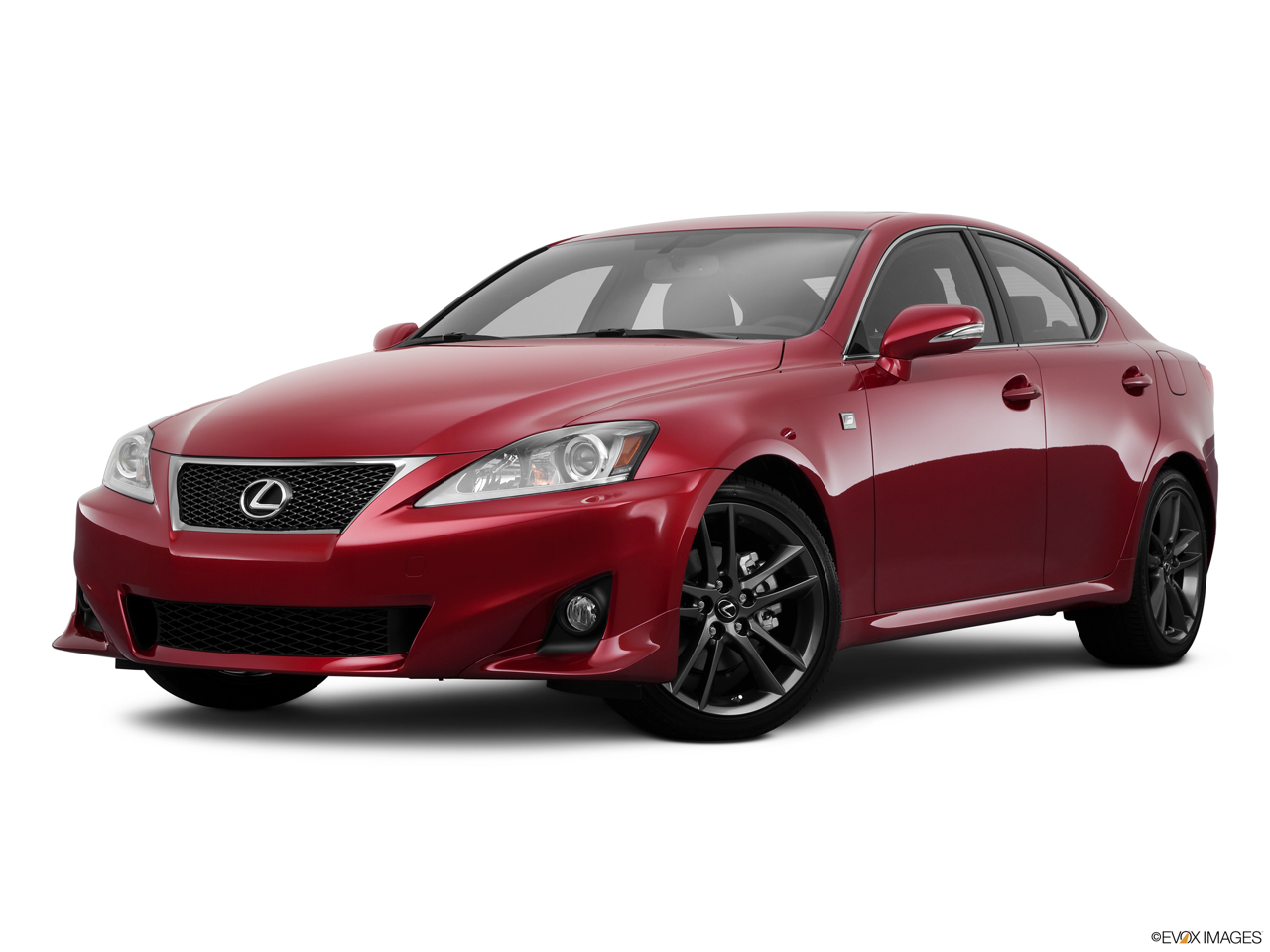 2011 Lexus IS 250 IS250 Front angle medium view.