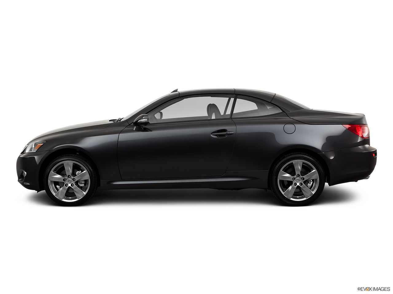 2011 Lexus IS 250C IS250C Drivers side profile, convertible top up (convertibles only).
