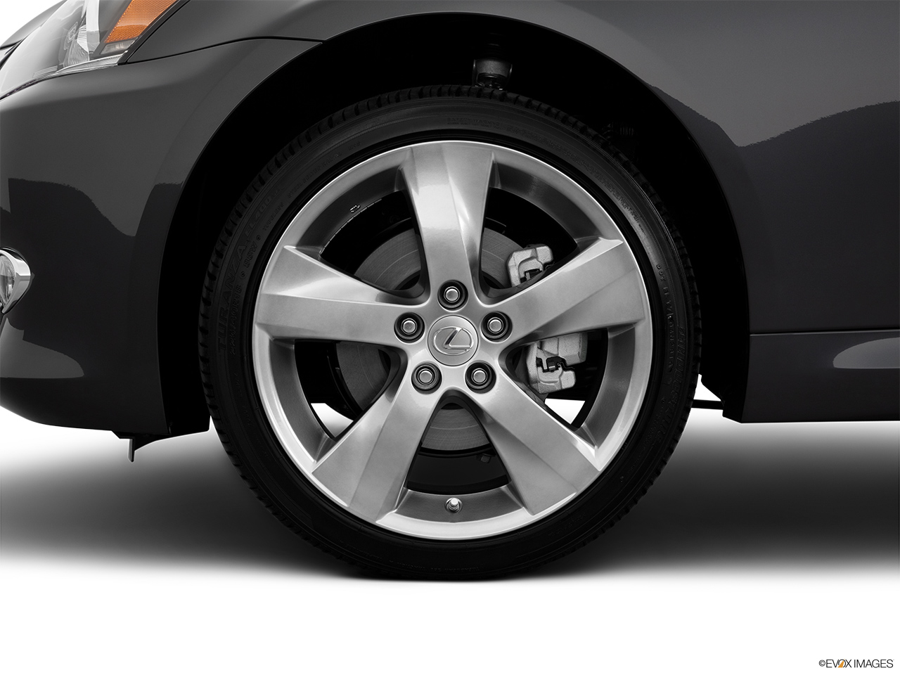 2011 Lexus IS 250C IS250C Front Drivers side wheel at profile.