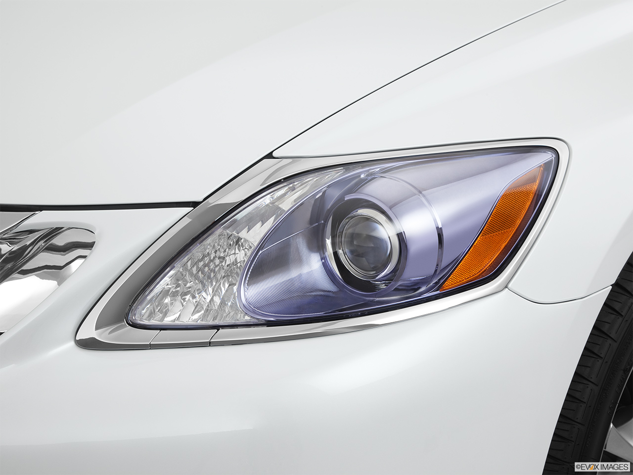 2011 Lexus GS Hybrid GS450h Drivers Side Headlight.
