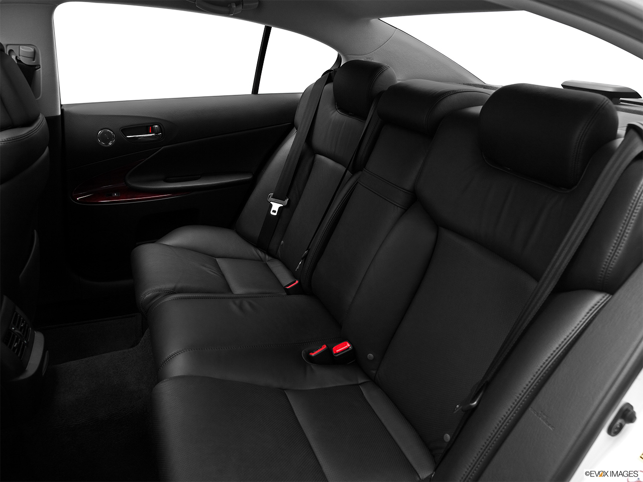 2011 Lexus GS Hybrid GS450h Rear seats from Drivers Side.