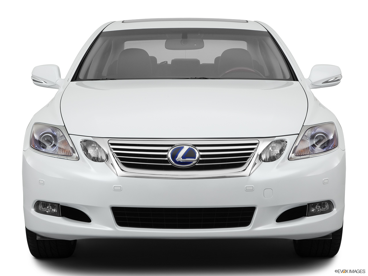 2011 Lexus GS Hybrid GS450h Low/wide front.