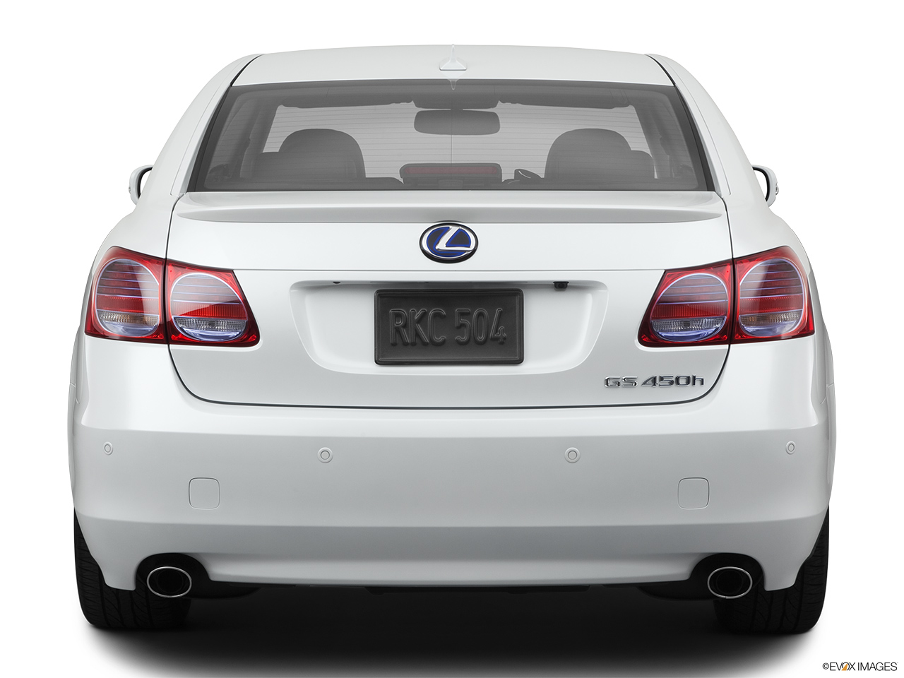 2011 Lexus GS Hybrid GS450h Low/wide rear.