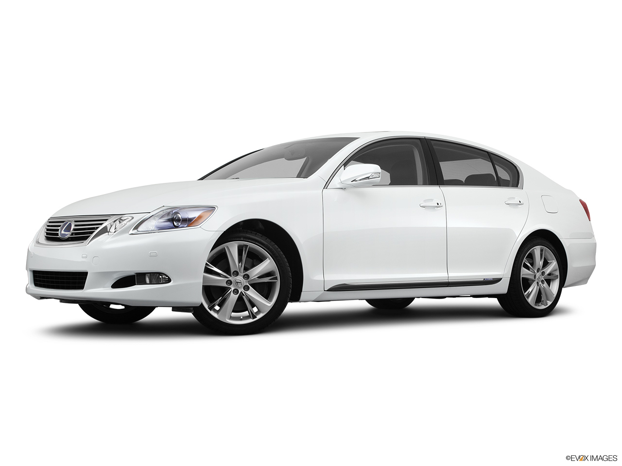 2011 Lexus GS Hybrid GS450h Low/wide front 5/8.