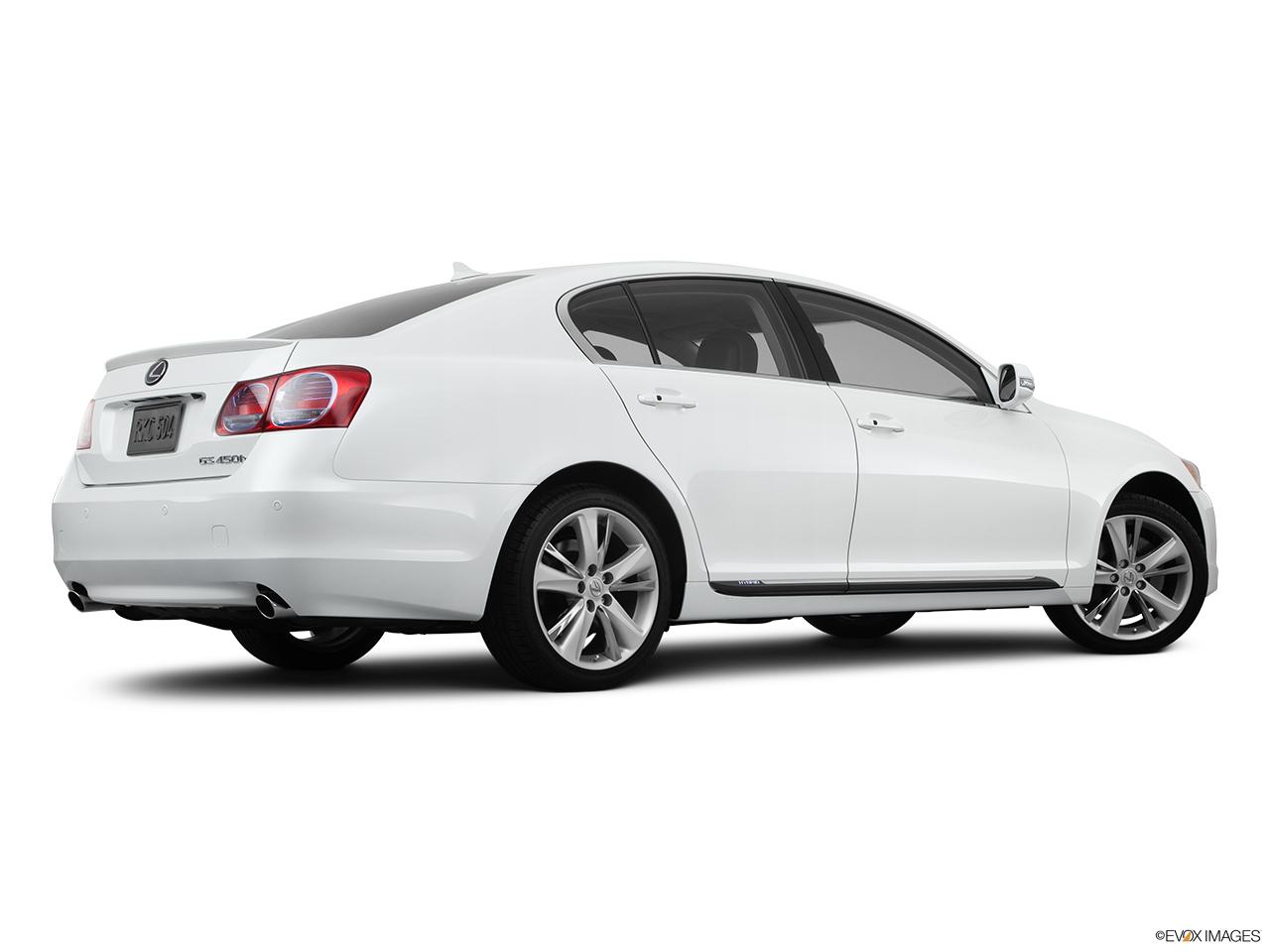 2011 Lexus GS Hybrid GS450h Low/wide rear 5/8.