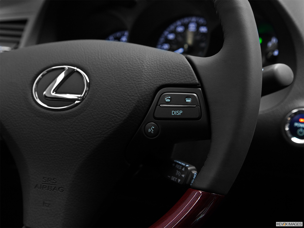 2011 Lexus GS Hybrid GS450h Steering Wheel Controls (Right Side)
