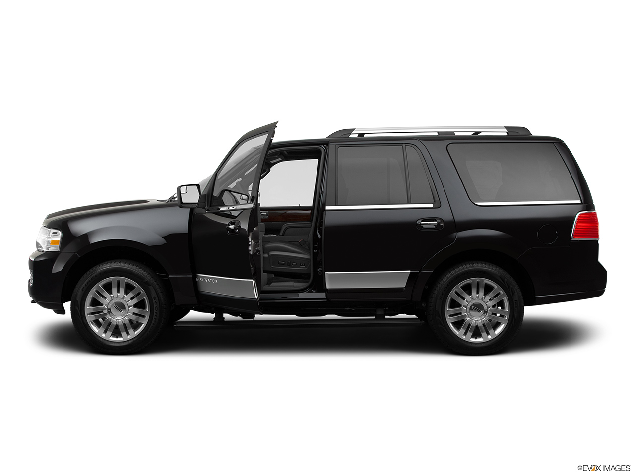 2012 Lincoln Navigator Base Driver's side profile with drivers side door open.