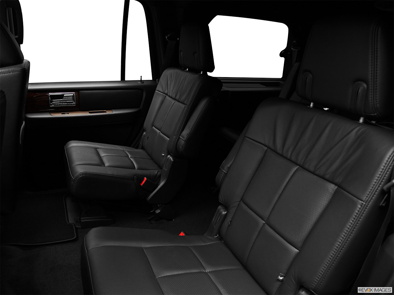 2012 Lincoln Navigator Base Rear seats from Drivers Side.