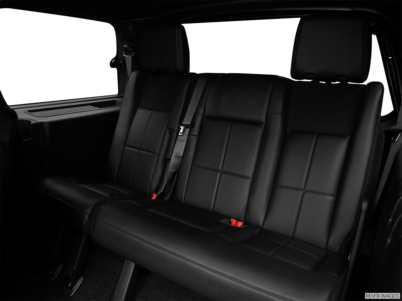 2012 Lincoln Navigator Base 3rd row seat from Driver Side.