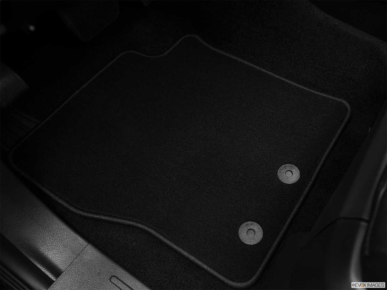 2012 Lincoln Navigator Base Driver's floor mat and pedals. Mid-seat level from outside looking in.