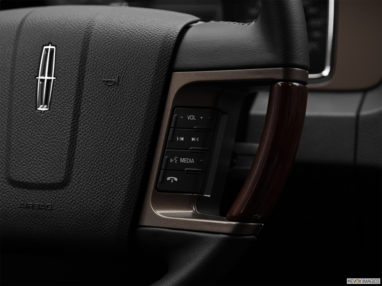 2012 Lincoln Navigator Base Steering Wheel Controls (Right Side)