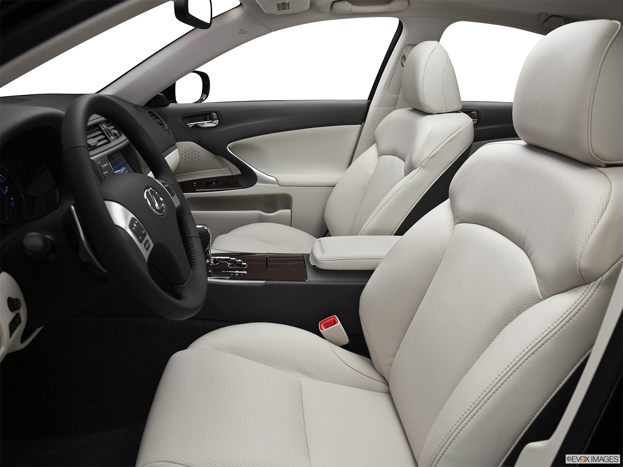 2012 Lexus IS 250 IS250 Front seats from Drivers Side.