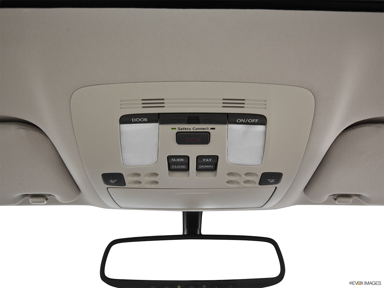 2012 Lexus IS 250 IS250 Courtesy lamps/ceiling controls.