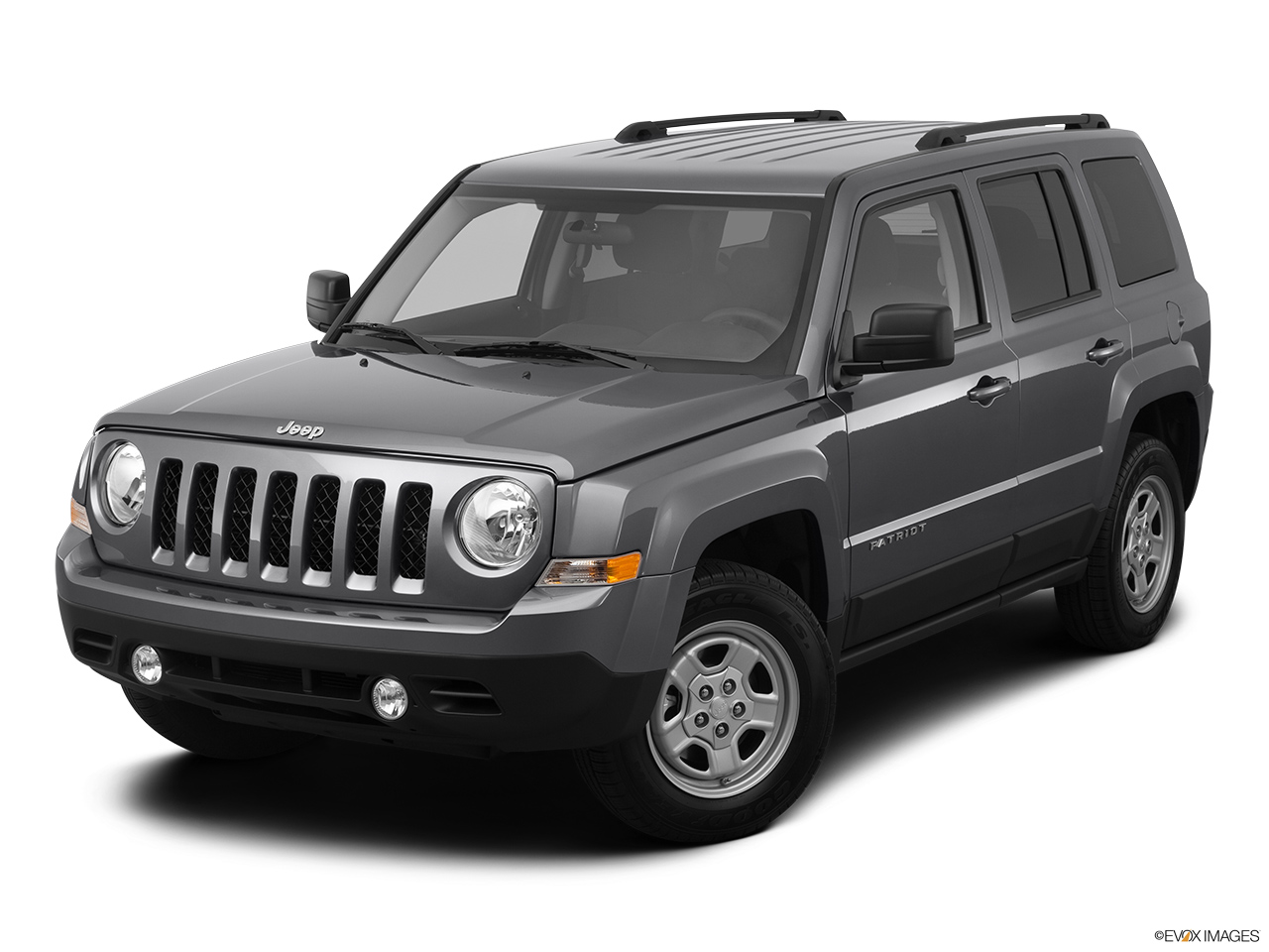 2012 Jeep Patriot Sport Front angle view.
