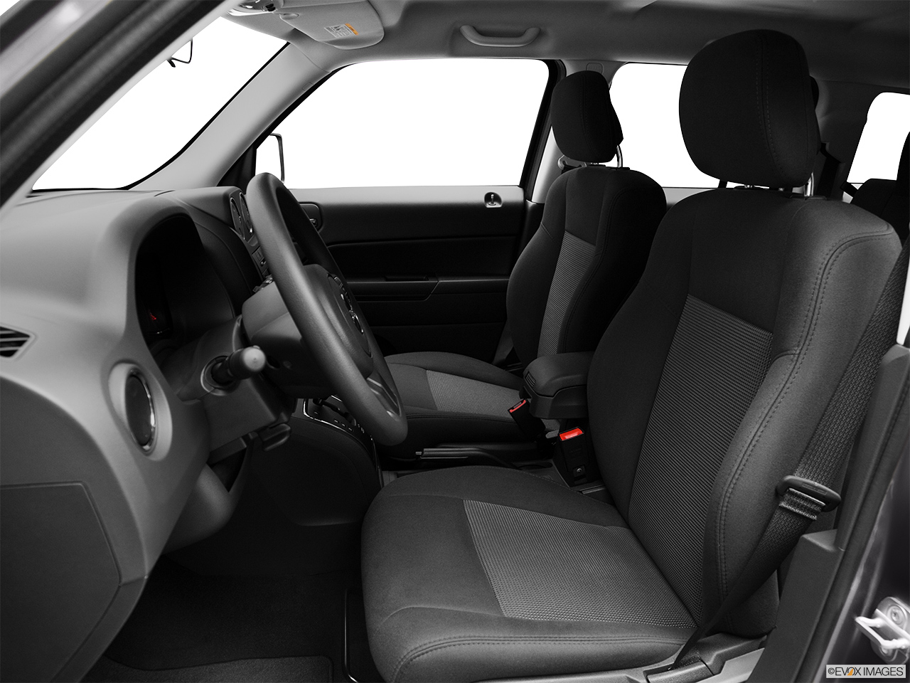2012 Jeep Patriot Sport Front seats from Drivers Side.