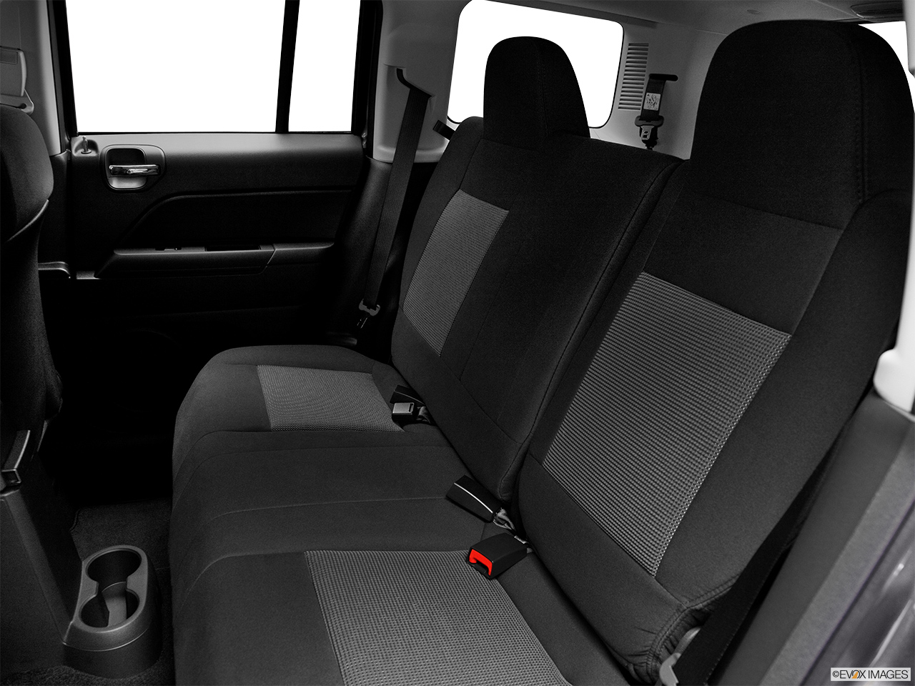 2012 Jeep Patriot Sport Rear seats from Drivers Side.
